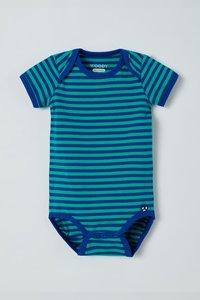 211-3-RES-Z/974 Body, blauw-groen gestreept