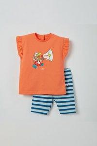 211-3-BAB-S/555 Meisjes pyjama, koraalroze