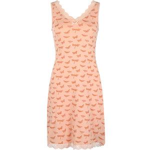 Women Slipdress Old pink melange/shiny copper E39116-38