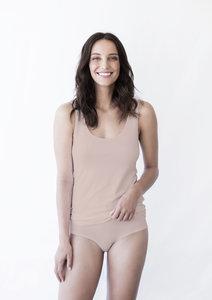 Dames singlet  beige nude 999-1-WES-Z/200